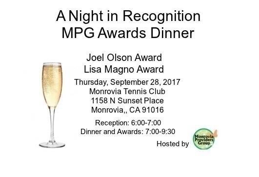 A Night in Recognition MPG Awards Dinner @ Monrovia Tennis Club | Monrovia | California | United States